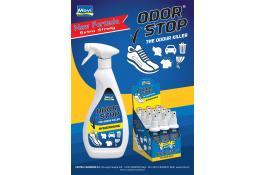 Prodotto igienizzante spray elimina odori Odor Stop