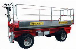 Raccoglifrutta semovente idraulico HF4000