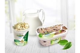 Мороженое в банке и в банке с натуральными ингредиентами I Naturali