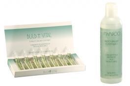 Shampoo e fiale prevenzione caduta capelli BulboVital