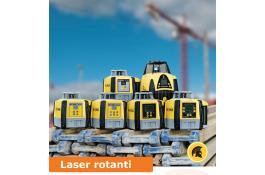 Laser rotanti per edilizia
