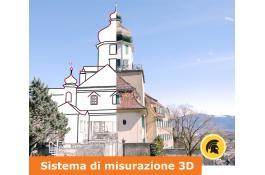 Sistema di misurazione 3D per ambienti interni ed esterni Zoom3D