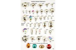 Pietre cristallo per produzione bigiotteria