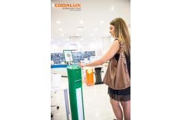 Distributore ticket con stampante termica Codalux