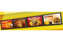 Monitor professionali per ristorazione e food