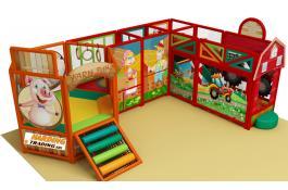 Playground interni e aree interattive per sale gioco