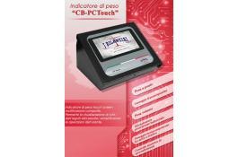 Indicatore di peso multifunzione CB Touch