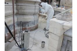 Sabbiatrici per ristrutturazioni edili e restauro