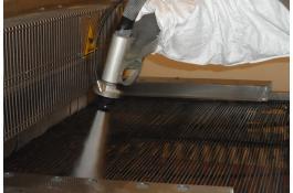 Sistema di pulitura per industria Ibix H2O