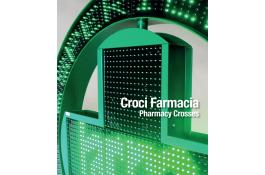 Croci led monocolore per farmacia