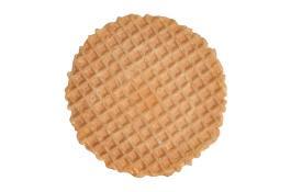 Cialda tonda per decorazione gelato Frisbee