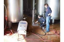 Steam generators to sanitize cellars / breweries / oil mills vaporONE vaporSTATION e vaporBOX