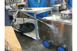 2 in 1 machine for food industry cleaning ECOvapor