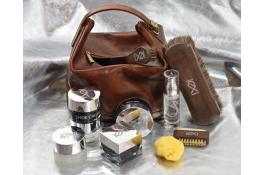 Custom kits for shoe care and finishing