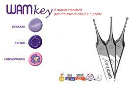 Sistema di rimozione per corone e ponti dentali WAMKey