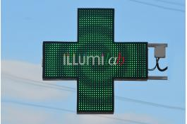 Insegna led farmacia verde GreenLab FULL HD 120 Doppio Led