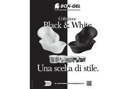 Vaschette termiche per gelato Black & White
