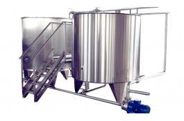 Lavaggio CIP per industria alimentare