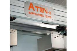 Robot per essiccazione vernici con raggi infrarossi Aton