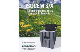 Blocchi non autoclavati in cemento cellulare Isocem S/X