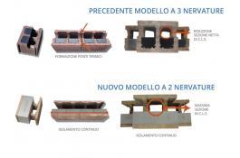 Sistema costruttivo con blocchi cassero in legno cemento: +45% di capacità portante e +15% di isolamento termico