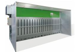 Cabina per abbattimento polveri autopulente Air Dry 430