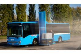 Impianto mobile lavaggio veicoli industriali e autobus Truck Wash