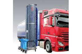 Sistema di lavaggio veicoli monospazzola Easy Wash E50