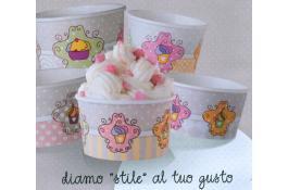 Coppetta per gelato in cartoncino