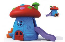 Little house with slide for children La Casa di Mentino