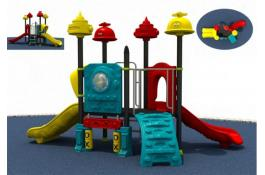 Modular outdoor playgrounds