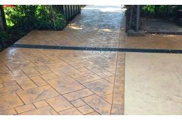 Pavimentazioni in calcestruzzo stampato