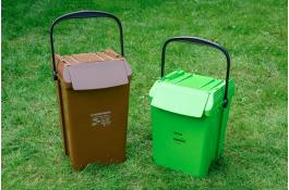 Штабелируемые контейнеры для сортировки отходов