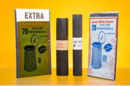 Кондитерские черные полиэтиленовые пакеты