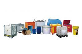 Contenitori per rifiuti e sostanze pericolose