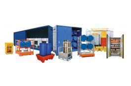 Sistemi di stoccaggio per contenitori rifiuti