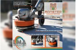 Levigatrice multifunzione per pavimenti Monster