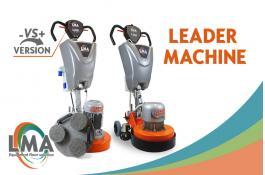 Levigatrice professionale per pavimentazioni civili e industriali Leader Machine