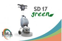 Monospazzola pavimenti a basso impatto ambientale SD 17 GREEN