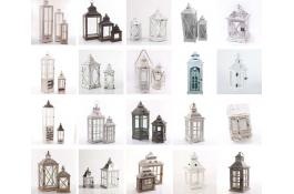 Lanterne decorative in legno