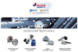 Sistemi di aspirazione industriale per aria standard