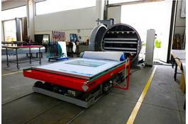 Macchina per laminazione vetro alta produttività LAMMIFLEX