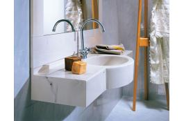 Monobloc marble sinks