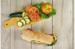 Pane da hamburger e sandwich surgelato
