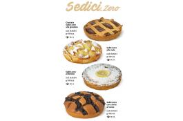 Torte dolci surgelate diametro 16 Sedici.Zero
