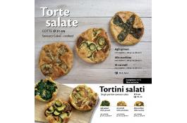 Torte salate cotte surgelate