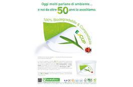 Coppe e bicchieri biodegradabili per gelateria E-Cup