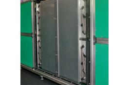 Air conditioning systems with heat storage ACCUBLOC