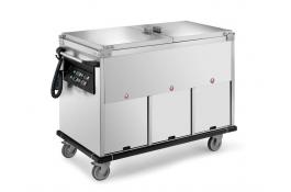 Thermal bain marie trolleys