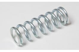 Production compression springs in carbon or stainless steel